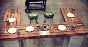 10 DIY Outdoor Eating Areas