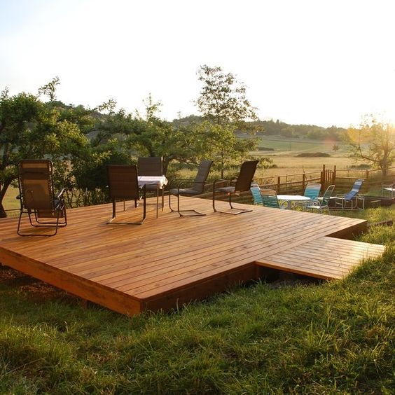 26 Floating Deck Design Ideas: How To Build Floating Deck Plans