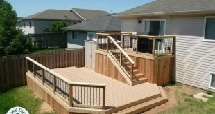 The Complete Guide About Multi Level Decks with 27 Design Ideas 2019 Multi Lev...