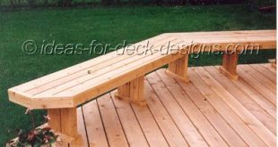 Build Deck Benches That Look Great! See all the ways you enhance your space