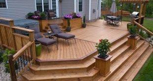 Cascading Deck Stair ...
