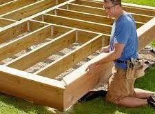 Image result for build a low deck on the ground #easydeckstobuild