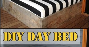 Make a day bed from reclaimed timber