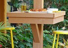 Small Deck Ideas - Decorating Porch Design On A Budget Space Saving DIY Backyard...