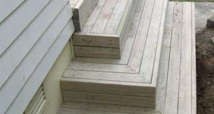 best deck stair design   All images / content are copyright Deckreation 2011
