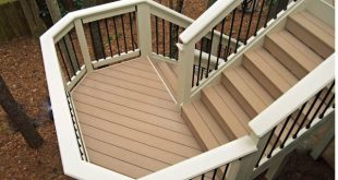 patio stairs with landing - Google Search