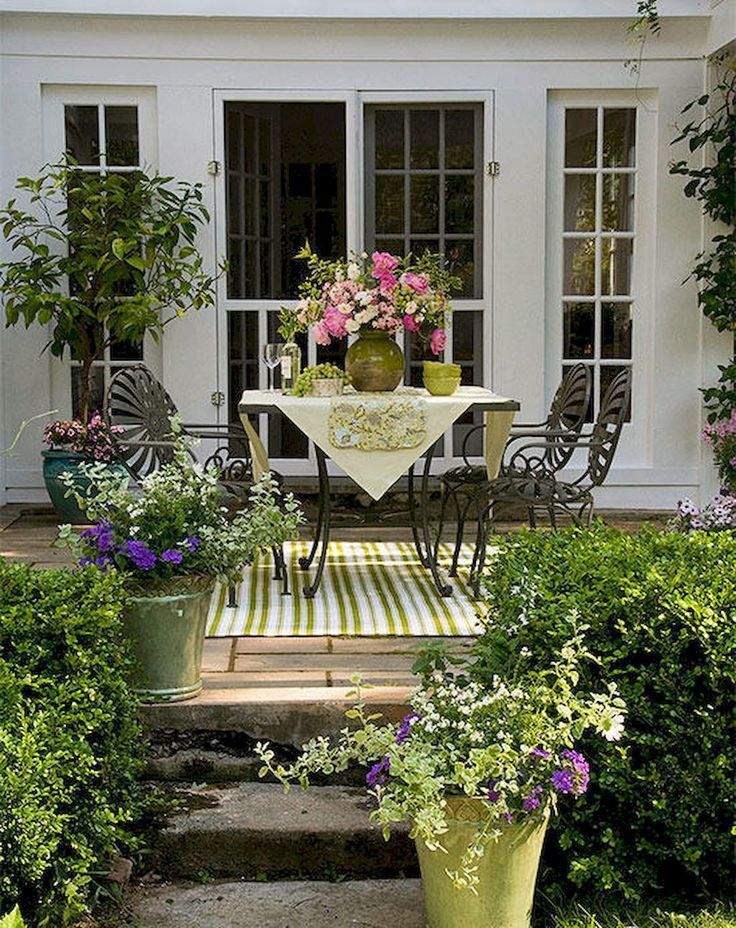 60 Inspired Small Patio Deck Design Ideas on A Budget 2019 ...