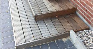 Außentreppe für den Hauseingang - Treppe selber bauen