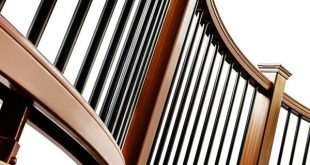 Trex offers railings that can be custom curved to match any deck design, and tha...