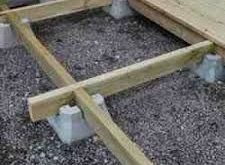 how to build a floating deck on dirt Google Search 2019 how to build a floati...