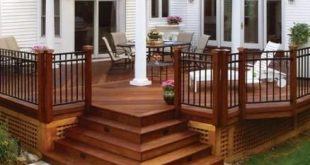 51+ ideas outdoor deck stairs back yard for 2019