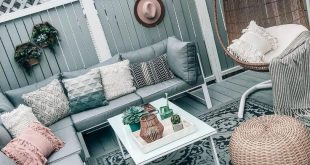 Designing Our Outdoor Space DIY - Patio and Deck Makeover on a Budget, Hanging E...