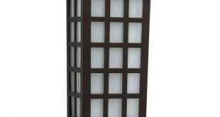 Hampton Bay Mission-Style Bronze Outdoor Integrated LED Solar Deck Sconce Lights (2-Pack) Sconce-43041
