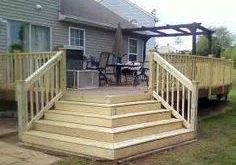 Image result for wrap around deck stairs diy 2019 Image result for wrap around