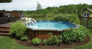 Oberirdische Pools mit Decks (20+ Awesome Photo) - ein unverzichtbarer Leitfaden...