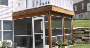 two story deck designs - Google Search