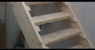 ▶ How to build Stairs. Easy steps DIY staircase - YouTube