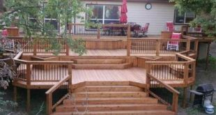 18+ trendy ideas wide patio steps deck stairs