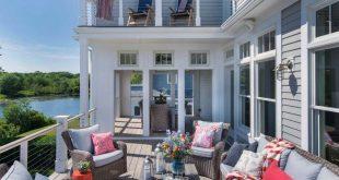 30+ Amazing Beach Style Deck Ideen für Entspannung