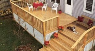 52 cozy backyard patio deck designs ideas 5