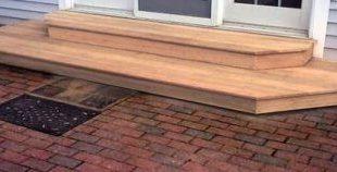 Backyard Deck Stairs Patio 53 New Ideas