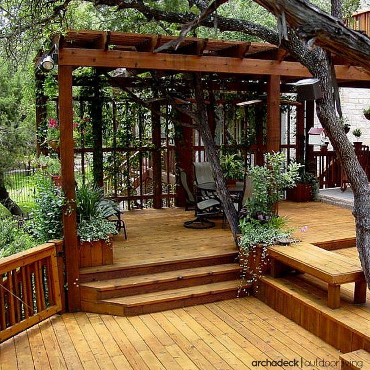Home Deck Design Ideas: Best Multi Level Deck Design Ideas For Your Home
