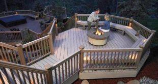 Designer Decks Multi Levels and Purposes To take full advantage of the hillside,...