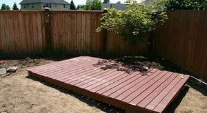 How to build your own backyard deck 2019 Article on building a simple deckgood ...