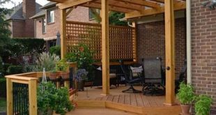 If you are looking for the renovation of your small patio with a fabulous pergol...