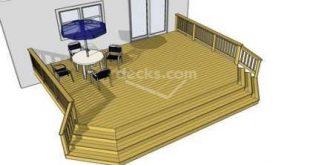 Super Cascading Deck Stairs Diy 40 Ideas