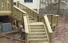 deck stairs ideas design - Google Search