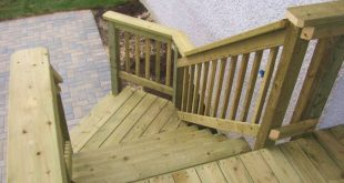 wide deck stairs - Google Search