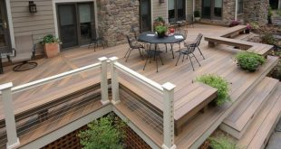 15 Superb Deck Design Cool Deck Skirting Ideas for Every Home & Yard 2019 If y...