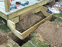 How To Build Basic Deck Stairs With Synthetic Treads - Simple Steps With Hand Ra...