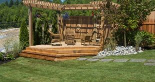 How to Build a Floating Deck 2019 How to Build a Floating Deck with Steps Th...