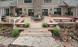 Image result for build a low deck on the ground