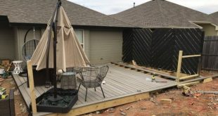 DIY Floating Deck Phase 3 2019 DIY Floating Deck Phase 3A DIY Floating Deck wi...