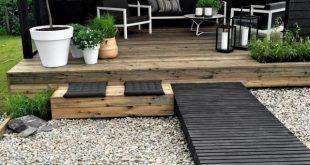 20 wunderbare Garten Decking Ideen mit besten Decking Designs