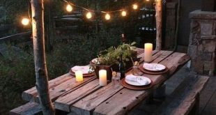 25 + Amazing Backyard Garden Beleuchtung Ideen für den Außenbereich - aktihome