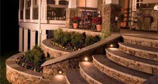 27 Outdoor Step Lighting Ideen, die Sie begeistern werden - #begeistern #die #Id...