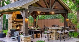 35 wunderschöne Küche Design-Ideen für Outdoor-Küche