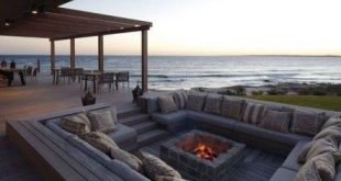 41+ Super Ideas Deck Stairs Diy Fire Pits