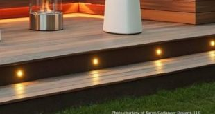 55 Trendy Deck Stairs Ideas Solar Lights