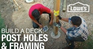 A safe, long-lasting deck needs proper footings and solid framing. Here's wh...