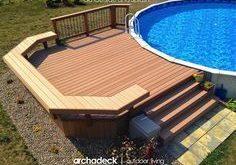 Above ground pool deck ideas on a budget #pooldeckideasforabovegroundpool