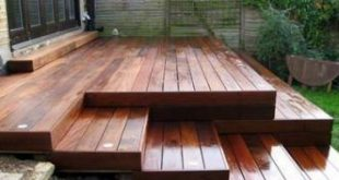 Backyard Deck Stairs Benches 64 Ideas