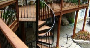 Curved deck stairs staircases 47 Trendy Ideas