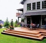 Decks without Railings | deck without railing #backyarddeckideaslow