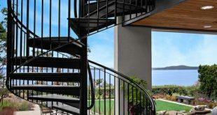 Emblematische moderne Designs für Außentreppen - 30 + Beispiele