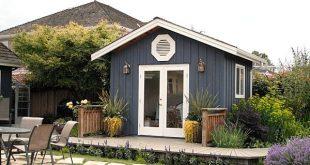 Gartenhaus Ideen mit charmantem und stilvollem Design